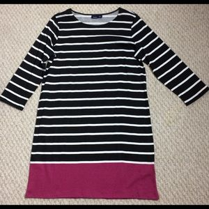 NWOT Basic Editions long sleeve cotton dress L